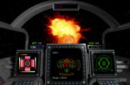 Explosion eines Kilrathi Schiffes