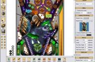 So sieht der Future Pinball Editor aus, mit dem sämtliche Tische erstellt wurden.