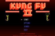 Das Kung Fu II Hauptmenü