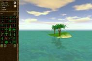 Mit dem integrierten Editor kann man auch eigene Inseln erstellen.