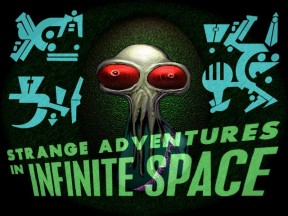 Strange Adventures in Infinite Space Startbildschirm